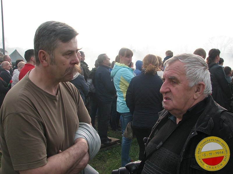Leszek Kapłon, wiceprezes GTH i Roman Frodyma, członek honorowy GTH