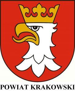 Herb powiatu - Z NAPISEM