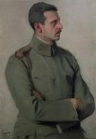 Portret mjr. Cezarego Hallera, mal. Alfred Karpiński (1919 r.)